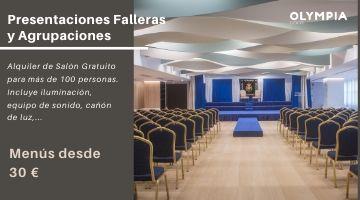 Presentaciones Falleras y Agrupaciones